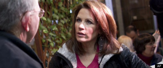 Michele Bachmann's Mean Face